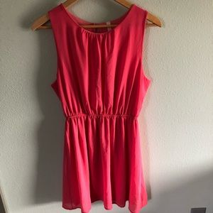 Coral dress from Tyche